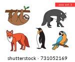 zoo animals vector icon logo...   Shutterstock .eps vector #731052169
