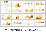 set of beer and bar  pub... | Shutterstock .eps vector #731062030