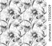 seamless pattern with original...   Shutterstock . vector #731063329