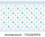 christmas background with... | Shutterstock .eps vector #731069593