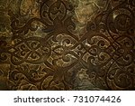 Old celtic pattern texture on...