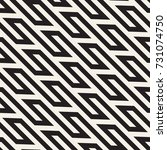vector seamless pattern. modern ... | Shutterstock .eps vector #731074750
