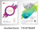 template vector design for... | Shutterstock .eps vector #731078689
