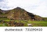chavin  archaeological site   ... | Shutterstock . vector #731090410