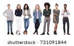 group of people | Shutterstock . vector #731091844
