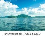 beautiful landscape of phuket... | Shutterstock . vector #731151310