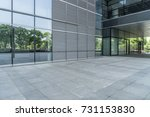 modern buildings and empty... | Shutterstock . vector #731153830