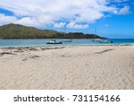 curieuse  seychelles  ... | Shutterstock . vector #731154166