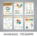 business data process chart.... | Shutterstock .eps vector #731166040