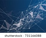 internet connection  abstract... | Shutterstock .eps vector #731166088