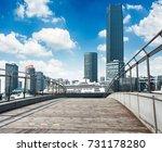 business district cityscape... | Shutterstock . vector #731178280