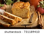 Apple Bread Rustic Style With...