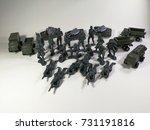 american military on white...   Shutterstock . vector #731191816