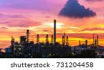 oil and gas industry zone... | Shutterstock . vector #731204458