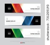 design of flyers  banners ...   Shutterstock .eps vector #731205193