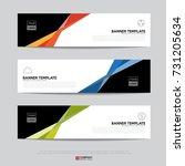 design of flyers  banners ... | Shutterstock .eps vector #731205634