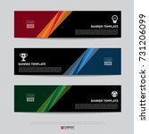 design of flyers  banners ... | Shutterstock .eps vector #731206099
