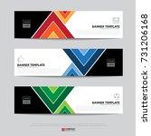 design of flyers  banners ...   Shutterstock .eps vector #731206168