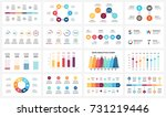 vector arrows infographic ... | Shutterstock .eps vector #731219446