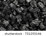 top view of coal mine deposit... | Shutterstock . vector #731255146