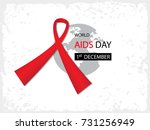 stop aids background | Shutterstock .eps vector #731256949