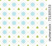 christmas pattern vector design ... | Shutterstock .eps vector #731305153