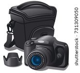 illustration of photo camera...   Shutterstock .eps vector #731309050