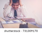 bad investment or economic... | Shutterstock . vector #731309170