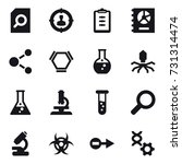 16 vector icon set   search... | Shutterstock .eps vector #731314474