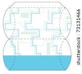 puffy box | Shutterstock .eps vector #73131466