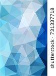 light blue modern geometrical...   Shutterstock . vector #731337718
