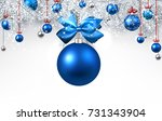 new year background with white... | Shutterstock .eps vector #731343904