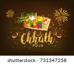 illustration greeting card... | Shutterstock .eps vector #731347258