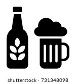 beer vector icon | Shutterstock .eps vector #731348098