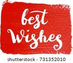 christmas calligraphy    Shutterstock .eps vector #731352010