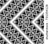 design seamless monochrome... | Shutterstock .eps vector #731354128