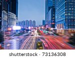 perspective view to glass high...   Shutterstock . vector #73136308