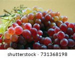 red and white grapes | Shutterstock . vector #731368198
