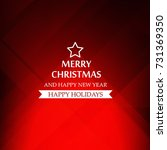 christmas background. vector ...   Shutterstock .eps vector #731369350
