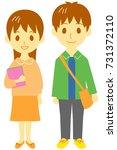 college students | Shutterstock . vector #731372110