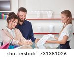 professional jewelry store... | Shutterstock . vector #731381026
