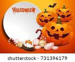 Halloween Template. Pumpkins...