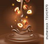 vector 3d realistic... | Shutterstock .eps vector #731419570