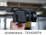 riga  august 2017   a fujifilm...   Shutterstock . vector #731424574