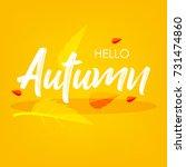 autumn season  season... | Shutterstock .eps vector #731474860
