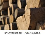 Stocks Of Wood For Construction