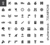 Military Equipment Vector Icon...
