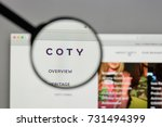milan  italy   august 10  2017  ... | Shutterstock . vector #731494399