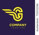 vector graphic elegant logotype ...   Shutterstock .eps vector #731512336