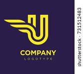 vector graphic elegant logotype ...   Shutterstock .eps vector #731512483